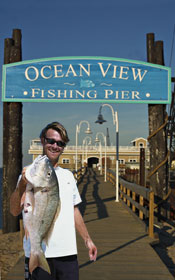 Ocean view fishing pier catch of the week for Ocean view fishing pier